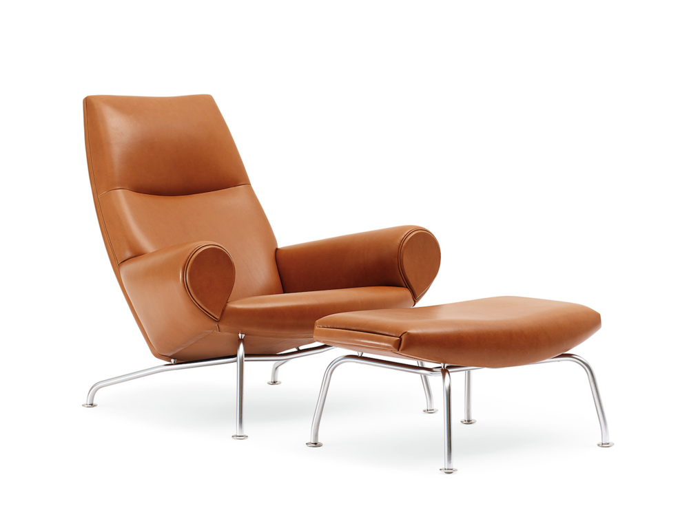Hans Wegner - Queen Chair ,  starting at $6,896 List* in standard fabric