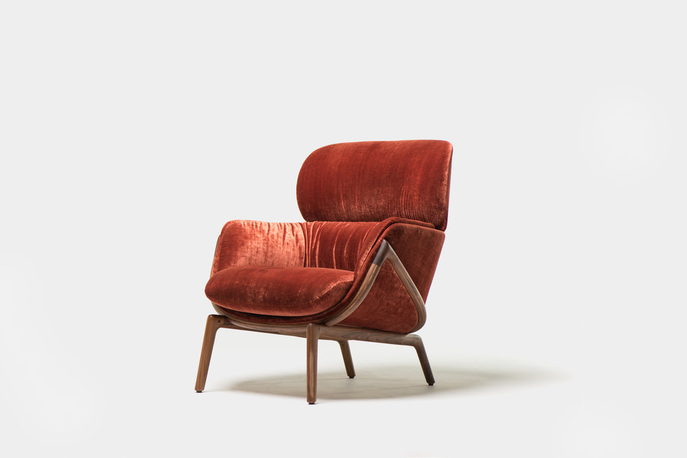 Elysia Lounge chair from DeLaEspada