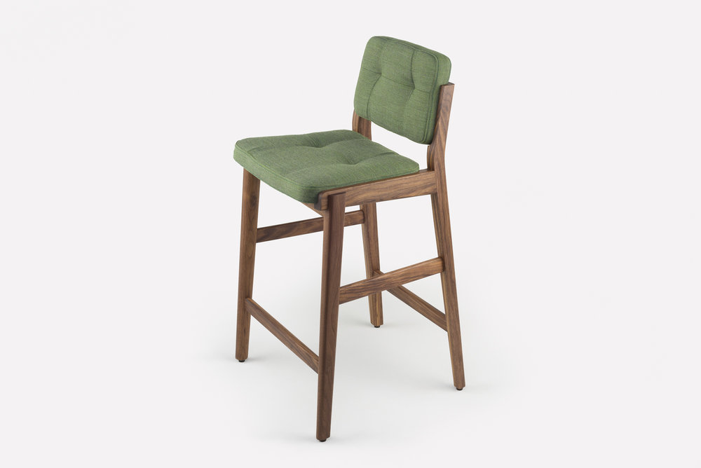 Capo Bar Stool from Neri & Hu for DeLaEspada 780WT stool