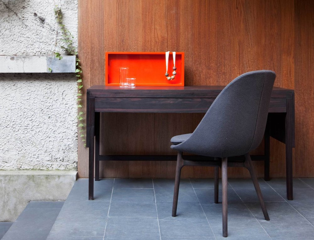 Solo dining chair by Neri & Hu for DeLaEspada