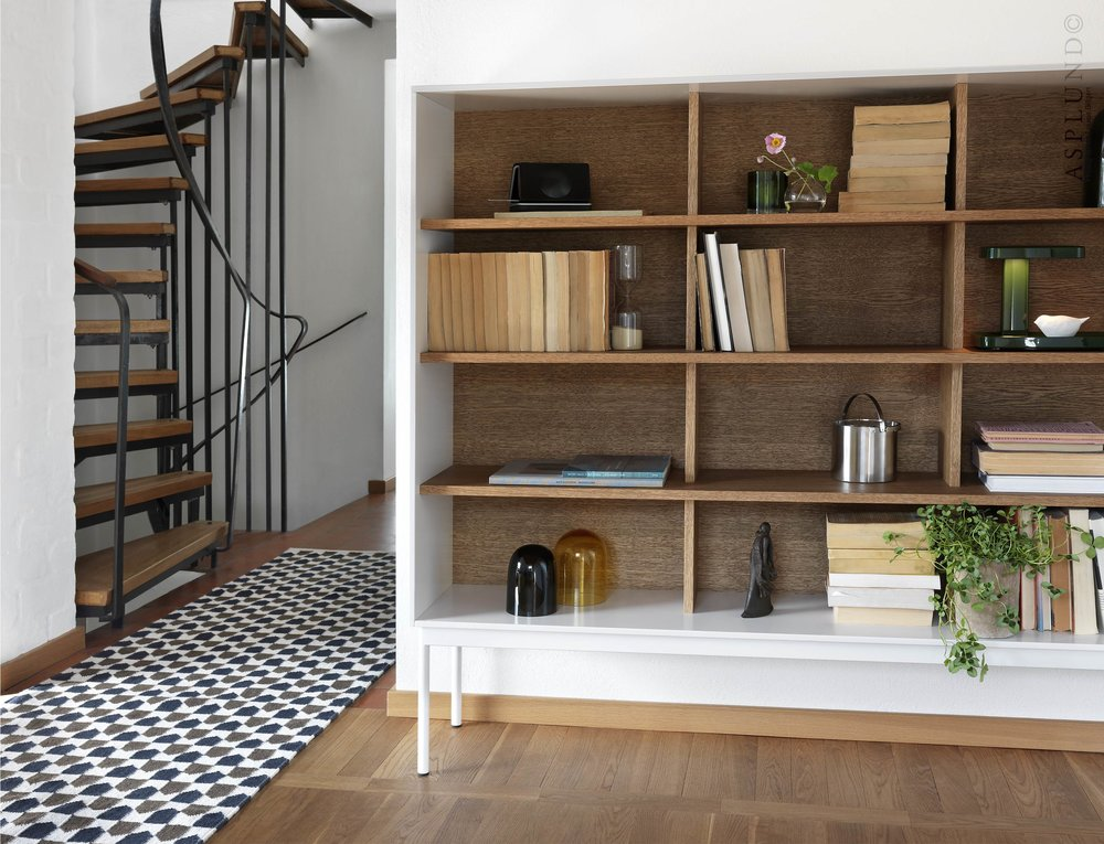 Besson Shelving from Asplund Furniture