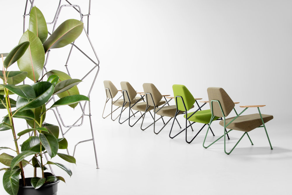 Polygon lounge chair from Prostoria