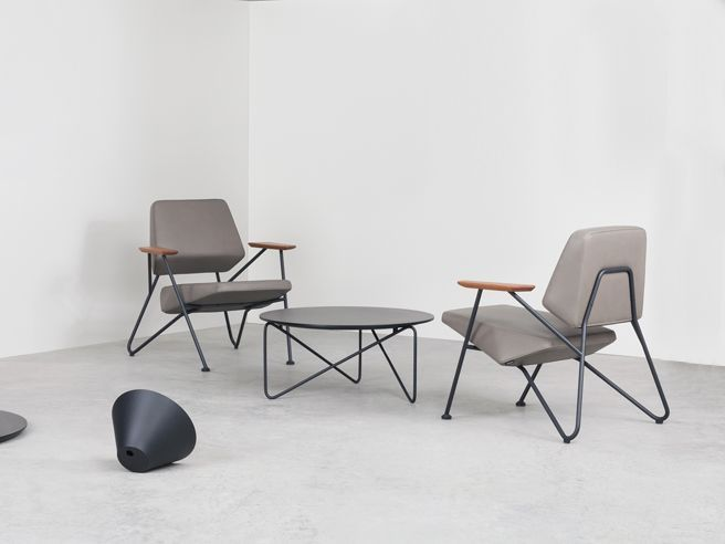 Polygon Lounge Chair -   $1,215 List &  Polygon Table -  $740 List starting price
