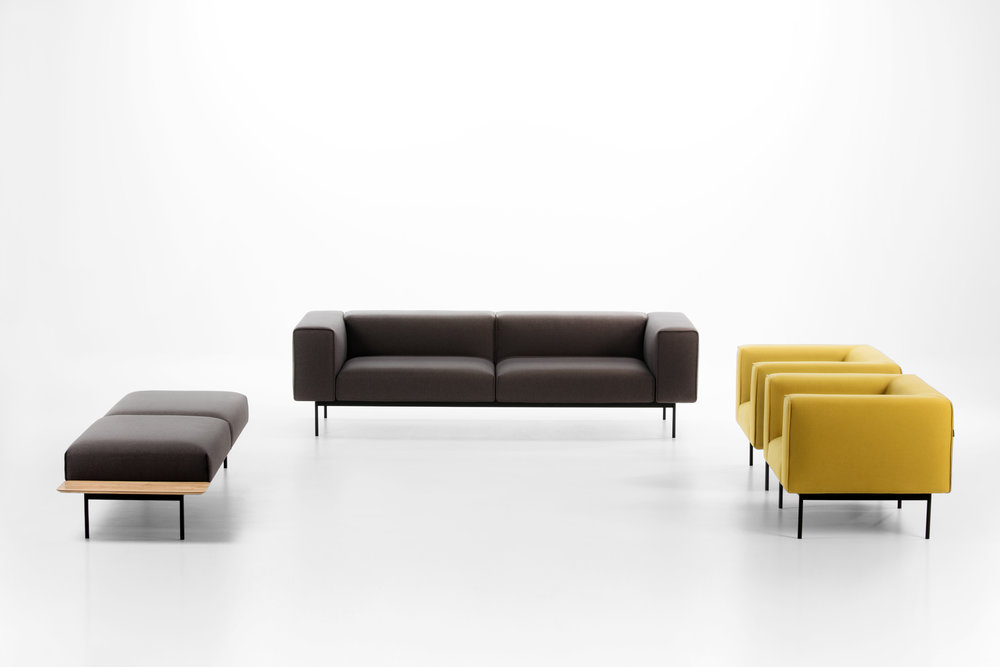 Convert Lounge seating from Prostoria Furniture