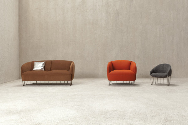 Tonella Armchair 92, Tonella Mini, and Tonella Sofa from Sancal