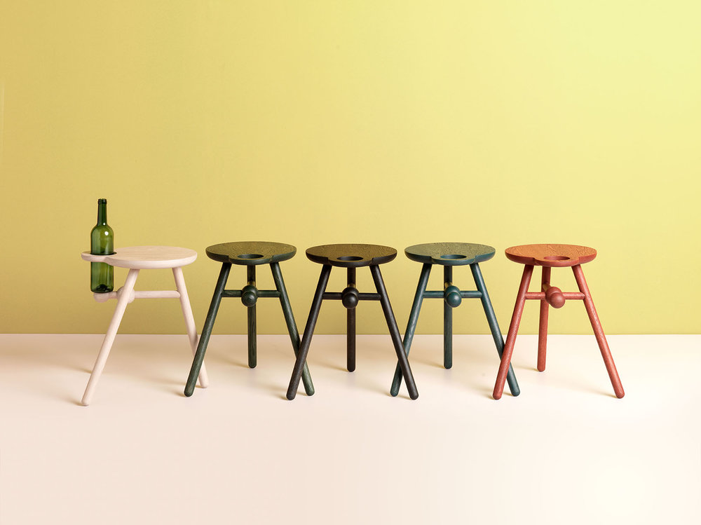 Bottle Stool from Pode