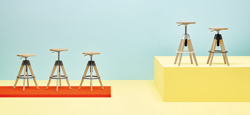 Arki Stool  - Height adjustable,  $504 List