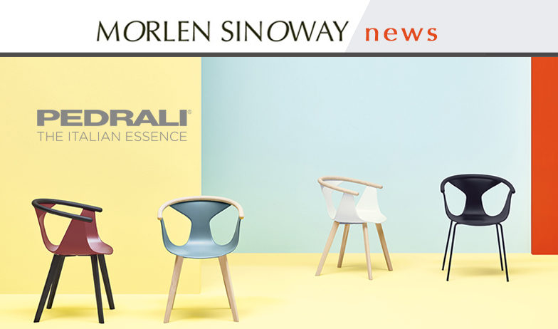 Pedrali Fox Chair from Patrick Norguet is now available at Morlen Sinoway