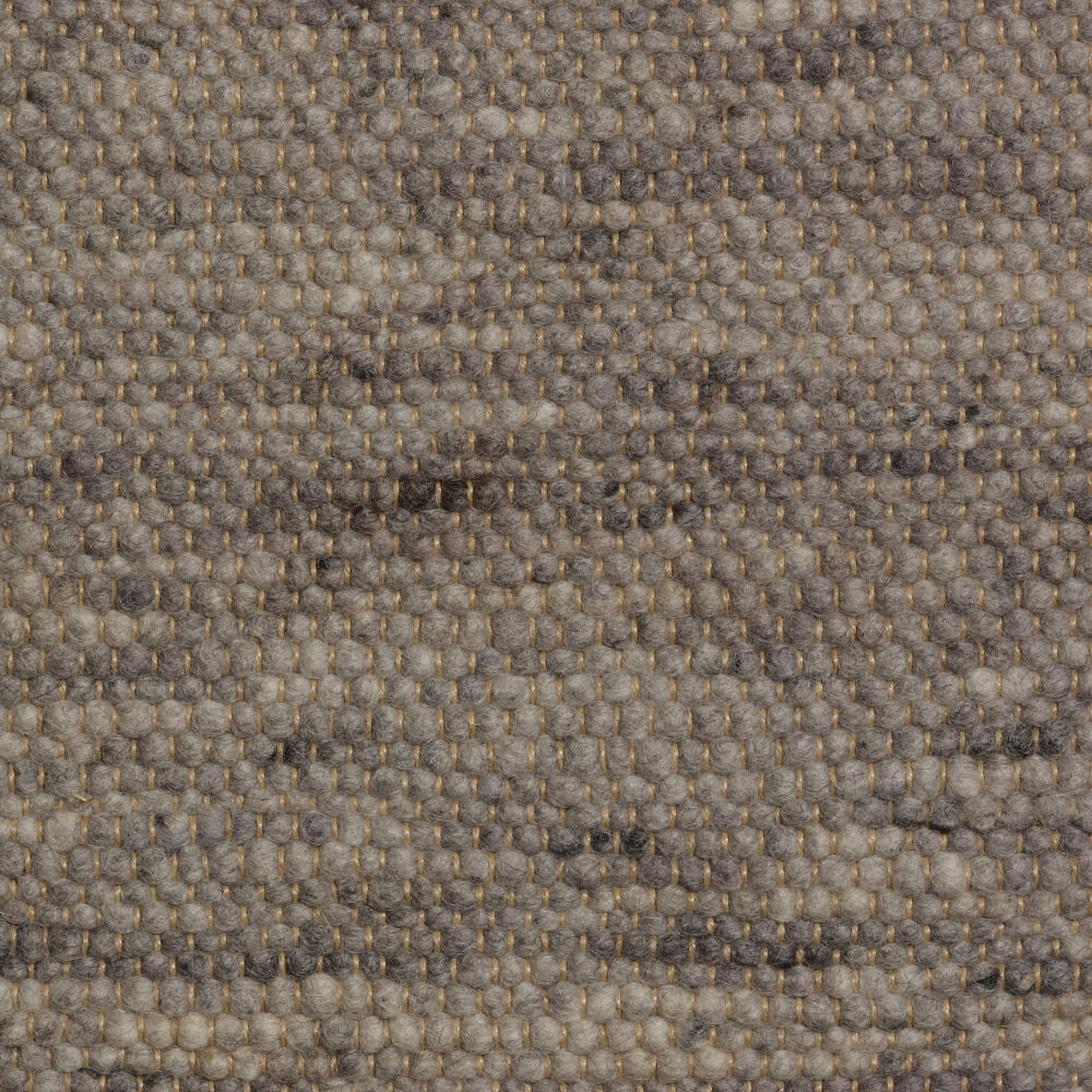 Perletta Bellamy textured felt rug at Morlen Sinoway