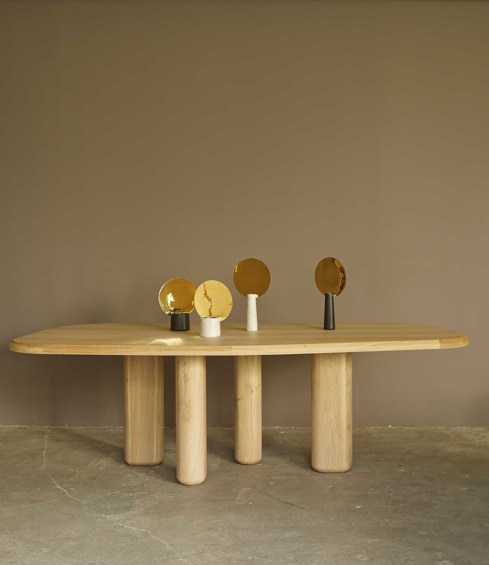 Rough Dining table from Collection Particuliere