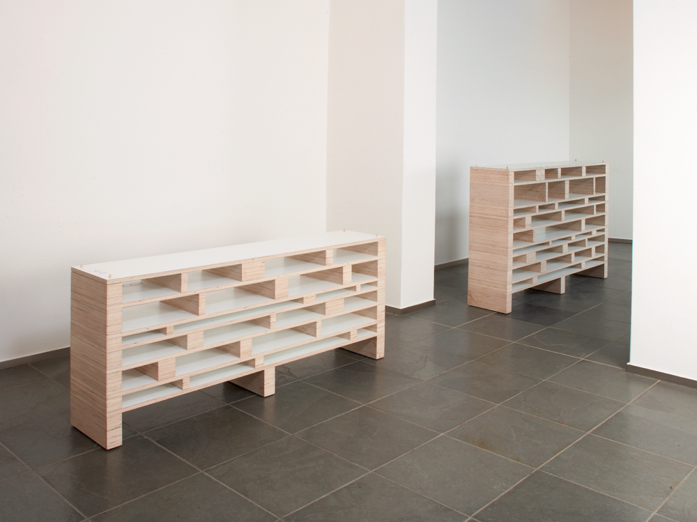 Spectrum Babel shelving units