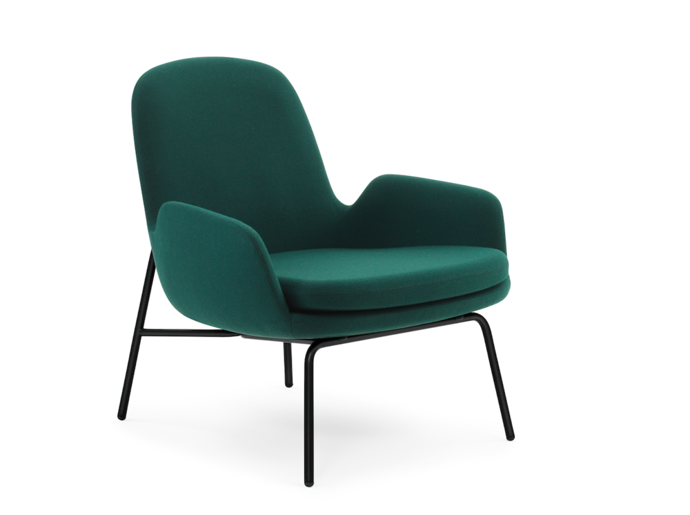 Era Low Armchair with metal base   $1,639 LIST