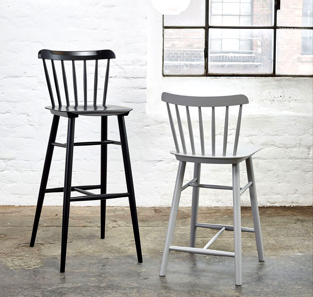 NEW! Ironica Barstool  -    beech finish - $418 LIST for Counter Ht.