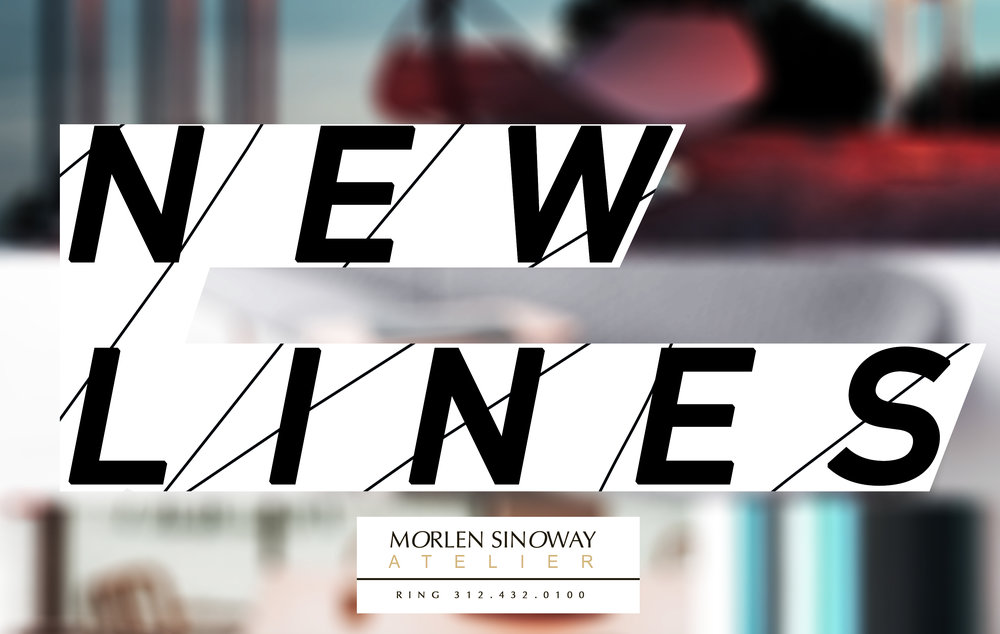 Feast your eyes with these unique pieces on the new lines lookbook. At Morlen Sinoway Atelier, we have delightful collections by worlds leading furniture manufacturers in various styles and price points.
