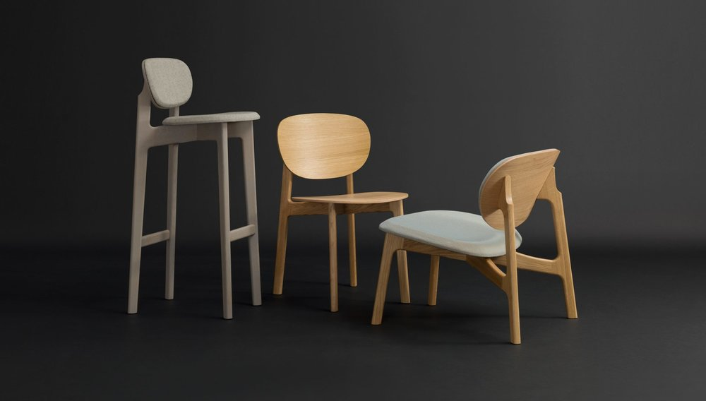 Zeitraum Zenso Barstool and Zenso Chair