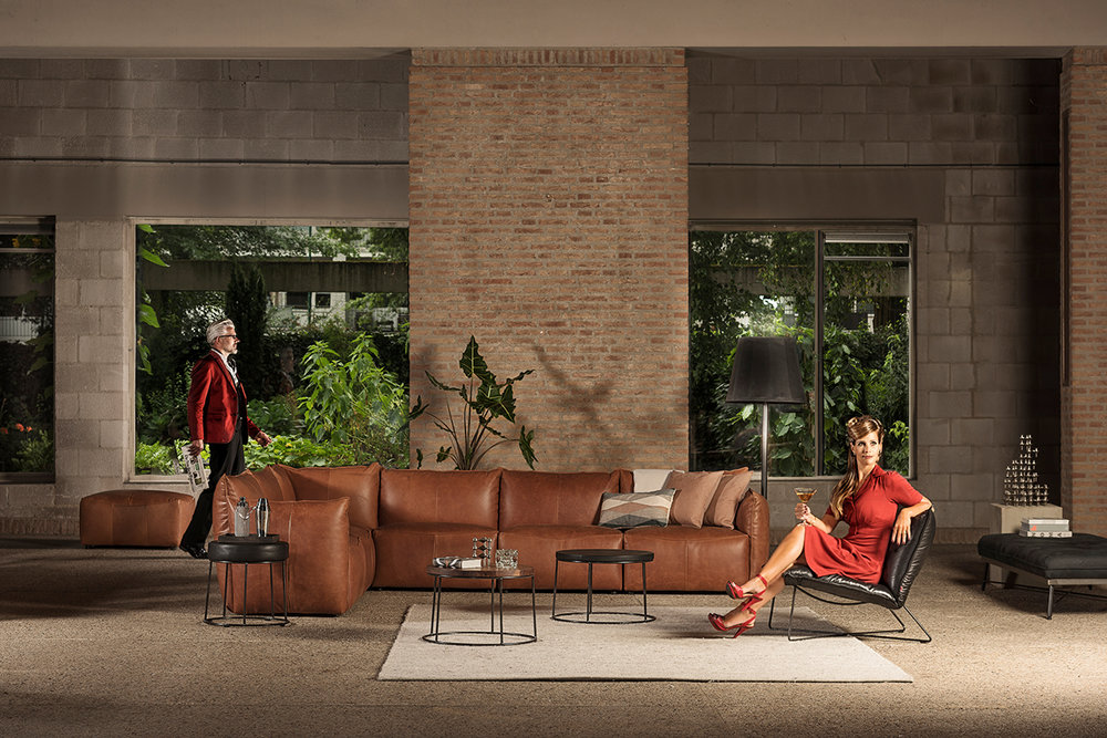 Jess Design Vasa sectional Sofa
