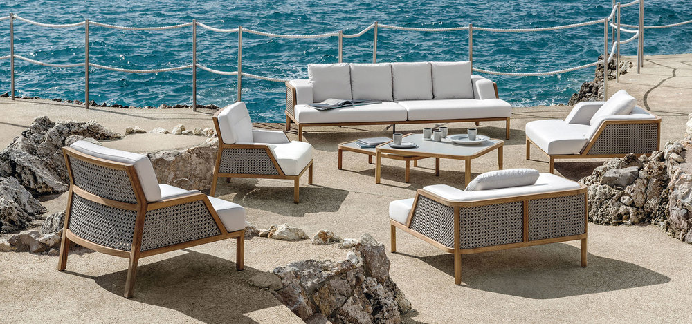 Grand Life outdoor furniture by Ethimo