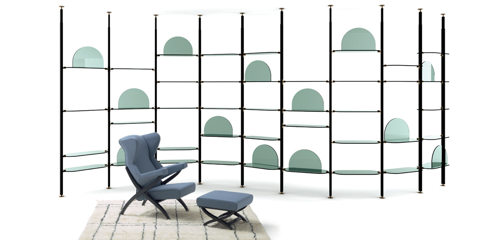 Alba Shelving for Arflex