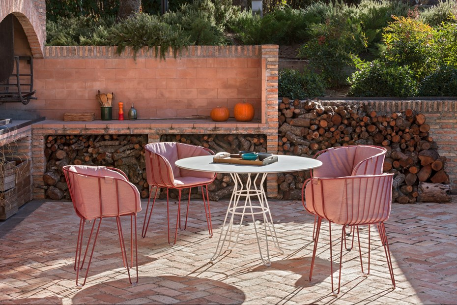 Olivo Upholstered Armchair by ISIMAR Outdoor