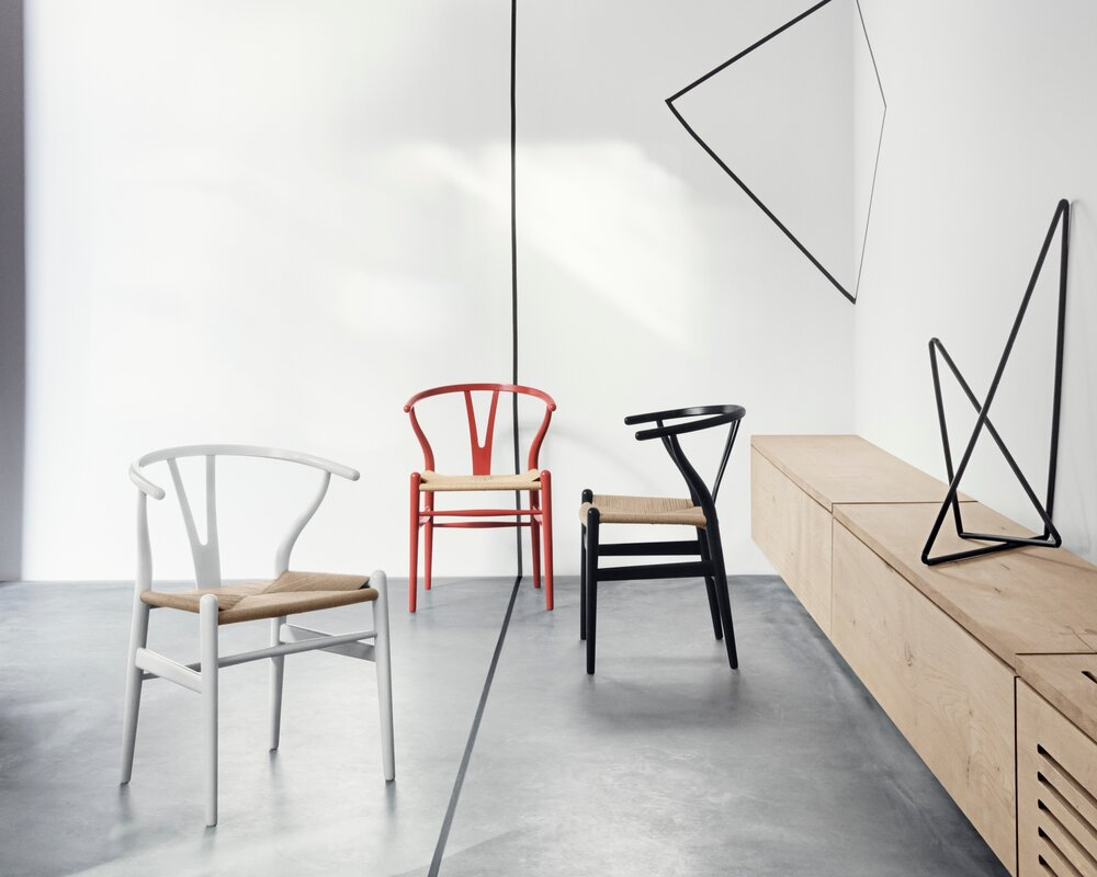 Wishbone Ch24 chair by Hans Wegner for Carl Hansen