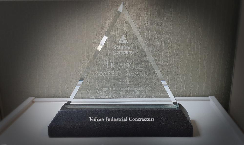 2017 Southern Company Triangle Safety Award