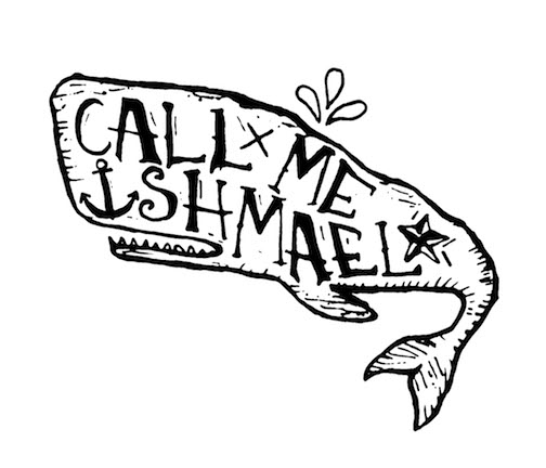 Call Me Ishmael (Moby Dick Graphic)
