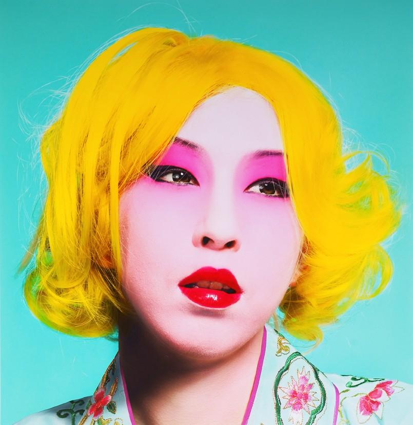 Shi Guowei, Fake Face, 2010, 110 x 100cm.jpg