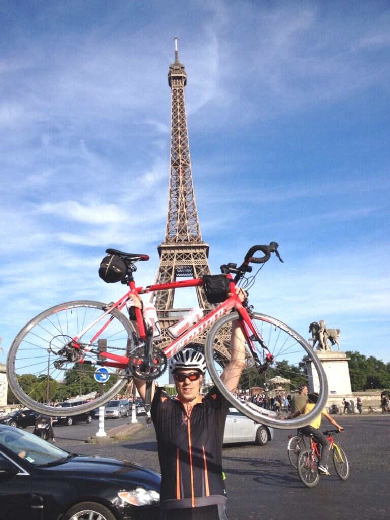 London to Paris Cycling Challenge, Sophie Radcliffe