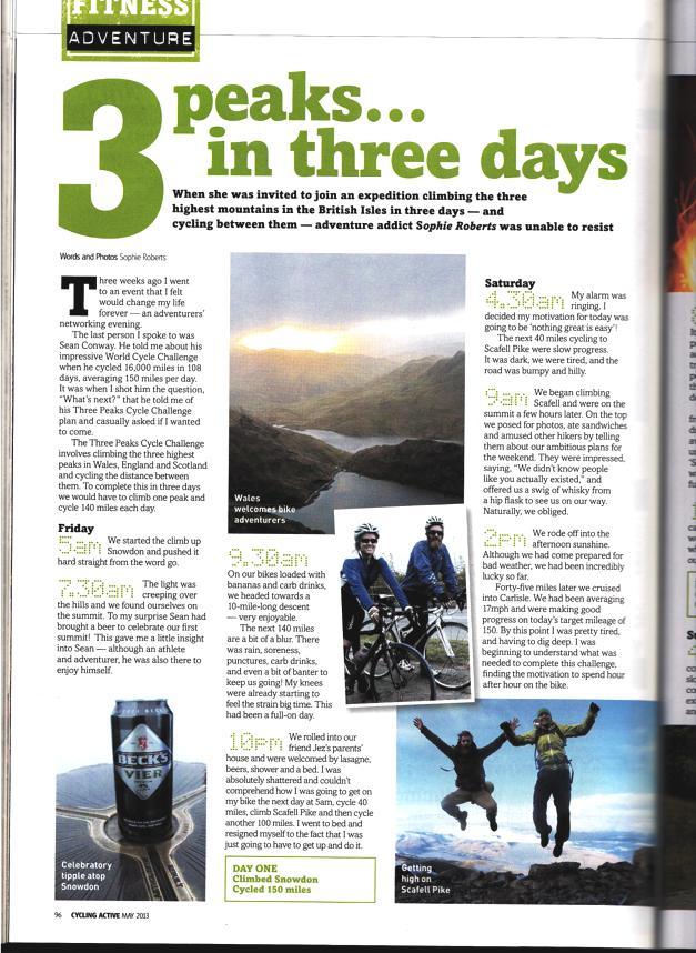 3 Peaks Cycle Challenge article