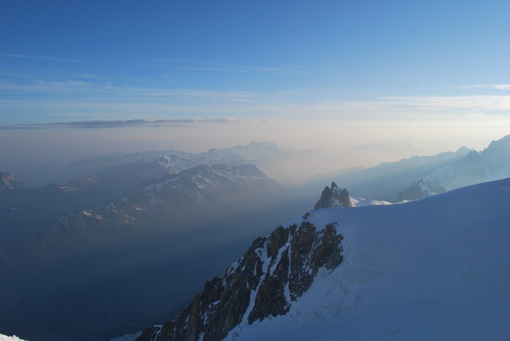 Alpine Dawn from Mont Blanc