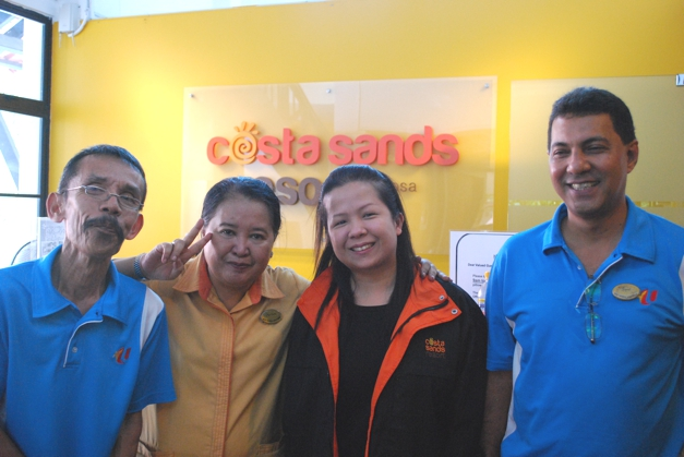 Costa Sands staff
