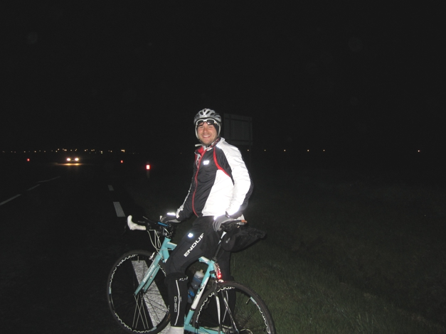 Cycling through the night