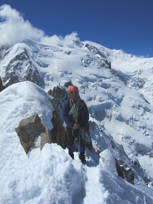 Graham coming over the ridge