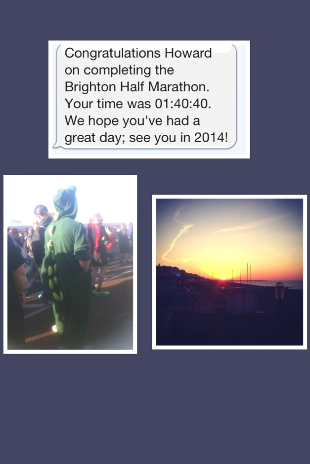 Howard - Brighton Half Marathon 2013