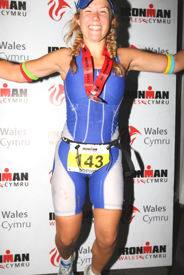 Challenge Sophie at Ironman Wales