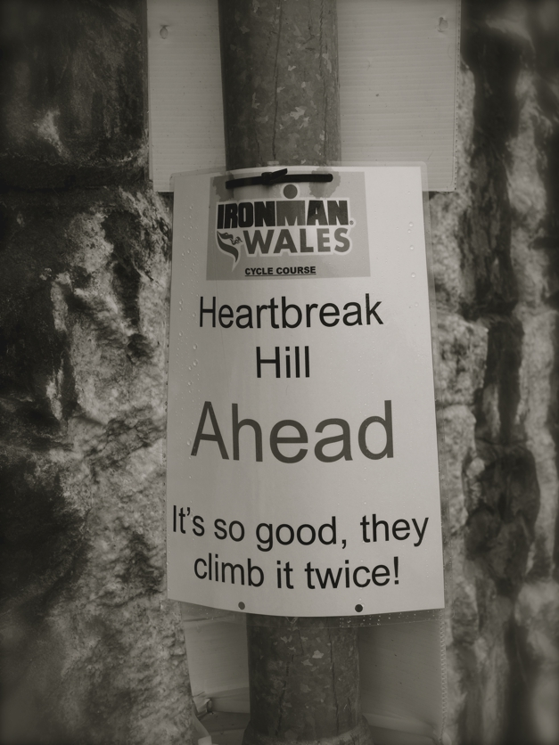 Ironman Wales bike course, Heartbreak Hill