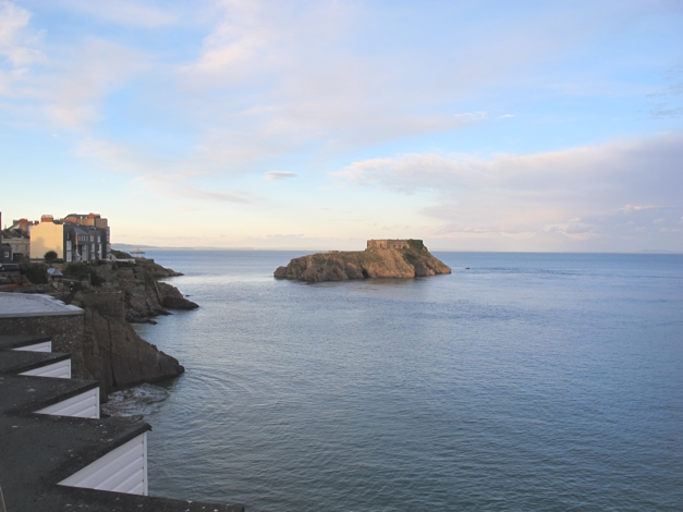 Calm evening in Tenby