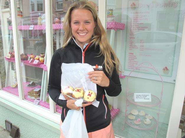 Ironman cupcakes!