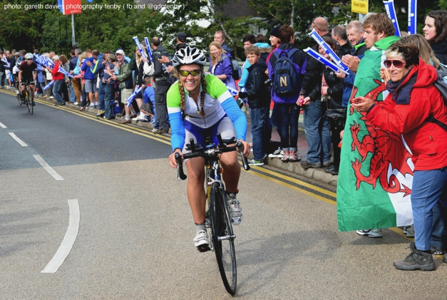 Lifted by the crowds on Heartbreak Hill, Ironman Wales