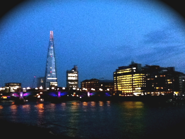 The Shard now nighttime