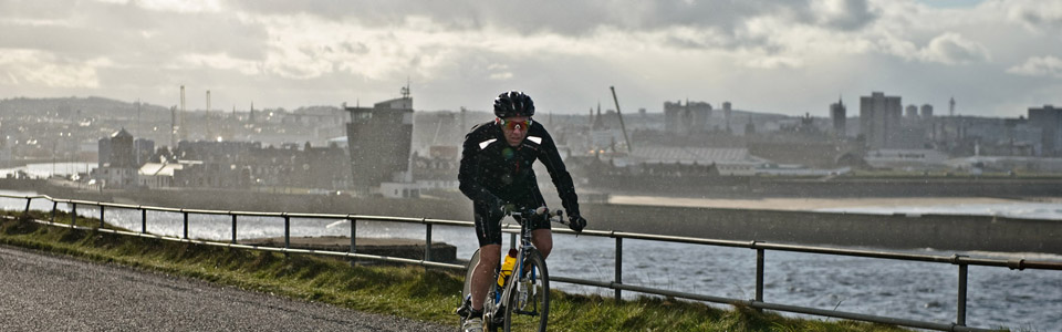 Scott Neyedli training in Aberdeen