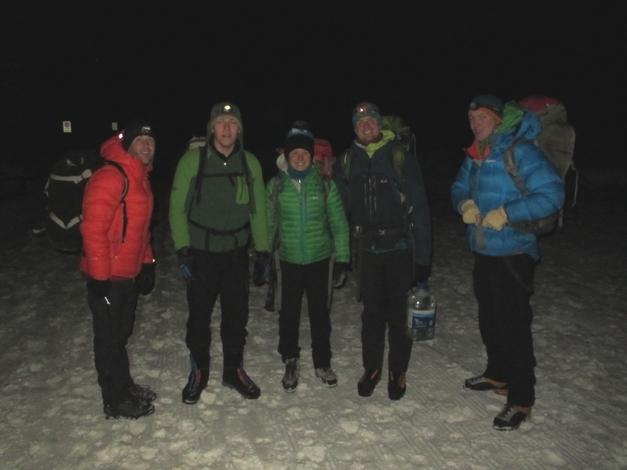 Bivvying, Italian Alps, Challenge Sophie