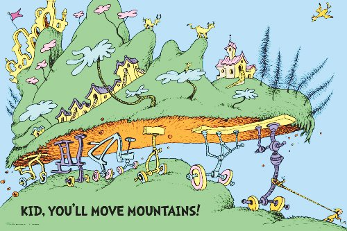 Go Move Your Mountain! Dr Zeuss