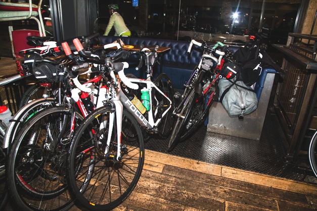 Bikes in the bar