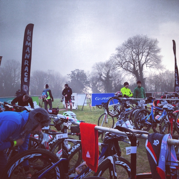 Transition pre-race