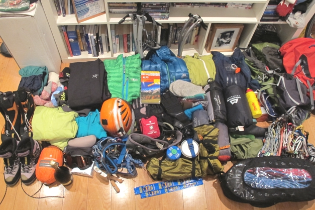 Packing for the mountains