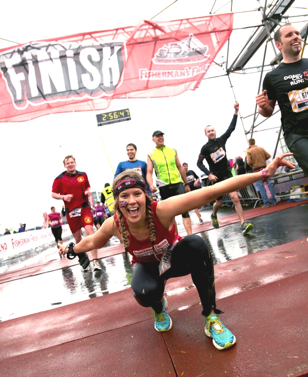 Fishermans Friend Strongman run sophie radcliffe
