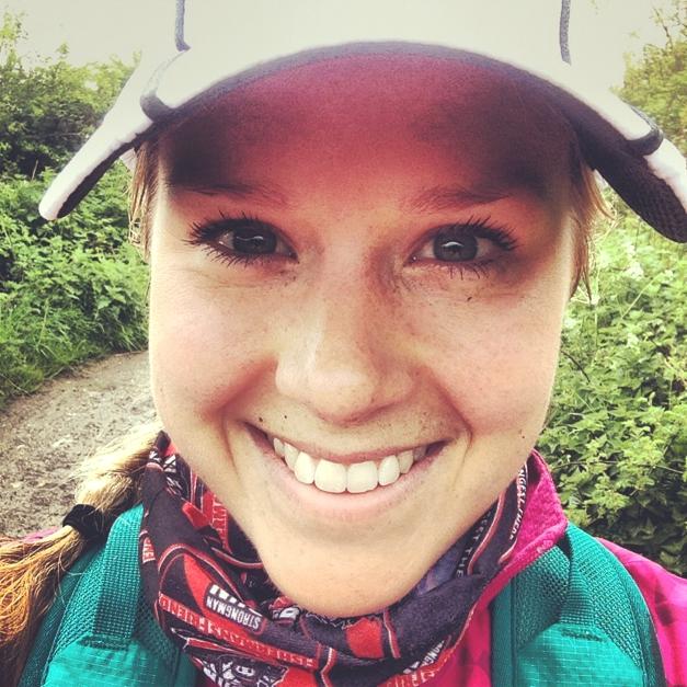 Sophie Radcliffe Running #selfie 25 miles in