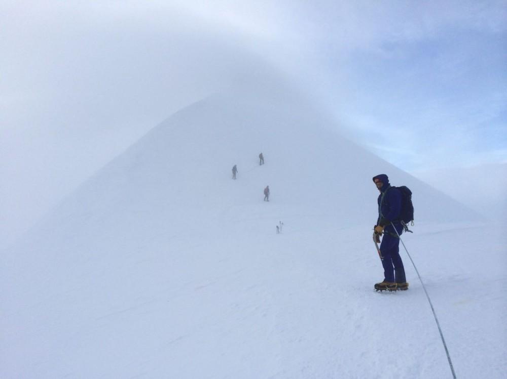 Climbing Mont Blanc, Challenge Sophie, Alpine Coast to Coast