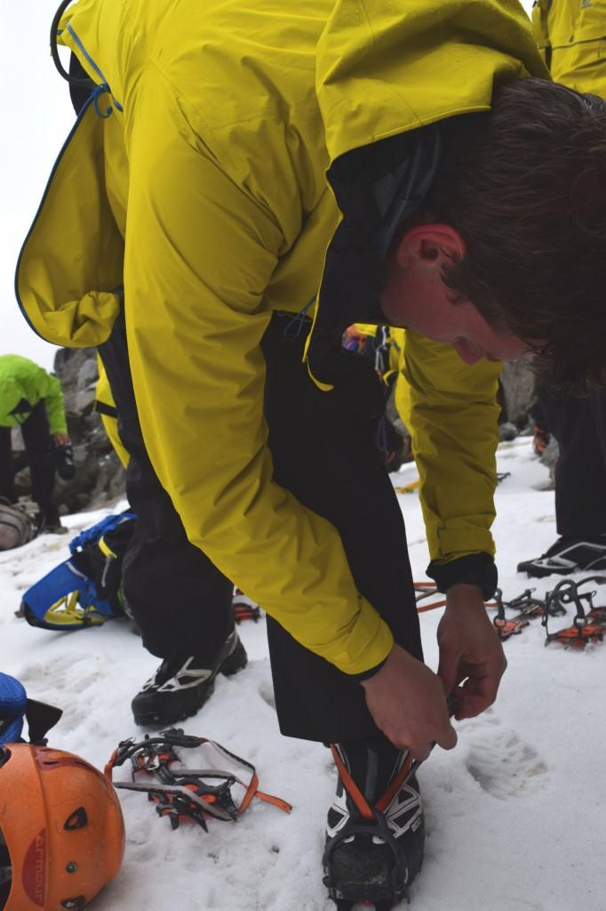 X ALP Salomon mountaineering boots